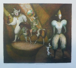 Karel Oberthor - V manéži