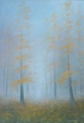Pavel Vacek - Ráno v lese, 45x32, olej, 6.900,- Kč
