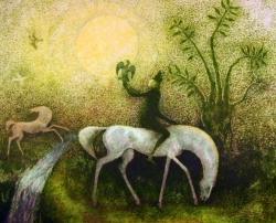 Karel Oberthor - Ráno na lovu