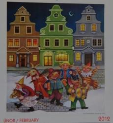 Jana Predikantová - Snění u studánky 2012 - kalendář