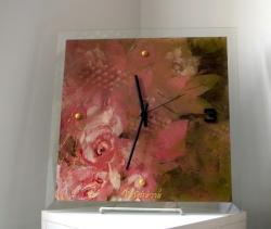 Táňa Dědourková - Hodiny obraz růžové