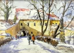 Jaromír Košař - Cesta k zámku