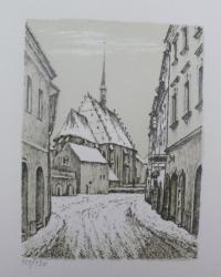 Hynek Luňák - Kostelní ulička