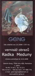 Radek Meduna - Pozvánka na výstavu